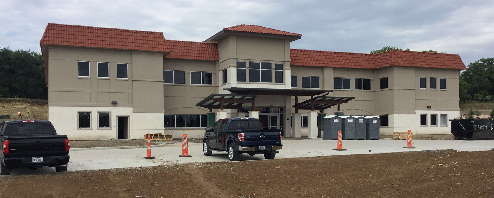 Construction of the North Texas Area Community Health Center
